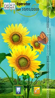 Summer Bright theme screenshot