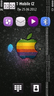 Apple 24 theme screenshot