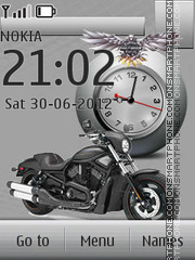 Harley Davidson ZKZ By ROMB39 theme screenshot