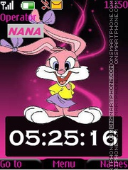 Lola Bunny CLK Theme-Screenshot
