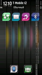 Abstract Line theme screenshot