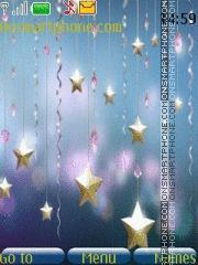 Magical Stars theme screenshot