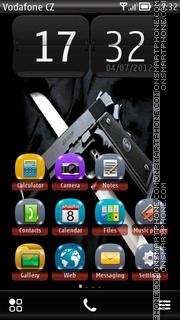 Capture d'écran Weapon 01 thème