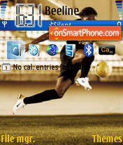 Joga Bonito theme screenshot