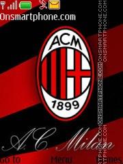 Ac Milan 21 theme screenshot