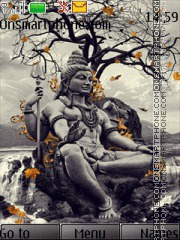 Lord Shiva 04 theme screenshot