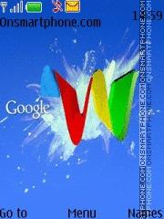 Google 08 es el tema de pantalla