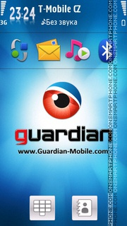 Guardian Theme. theme screenshot