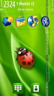 Green Summer s60v5 theme screenshot