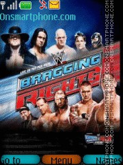 WWE Bragging Rights theme screenshot