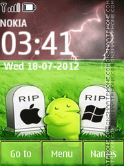 Rip Others Except Android theme screenshot