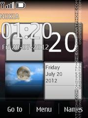 Evening Road theme screenshot