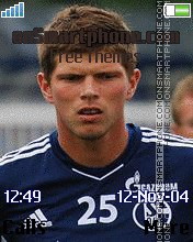Klaas Jan Huntelaar tema screenshot