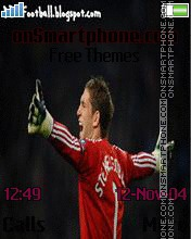 Maarten Stekelenburg theme screenshot