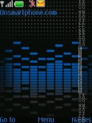 Sound check blue theme screenshot