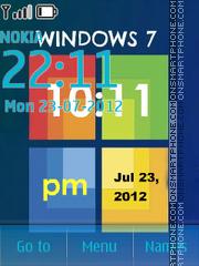 Windows 7 with tone 01 tema screenshot
