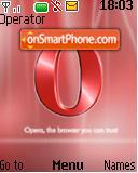 Opera 02 es el tema de pantalla