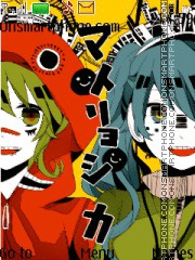 Matryoshka Vocaloid theme screenshot