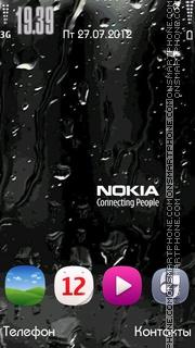Nokia Drops theme screenshot
