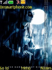 Dark Knight Rises Catwoman theme screenshot