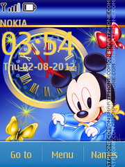 Little Mickey Mouse theme screenshot