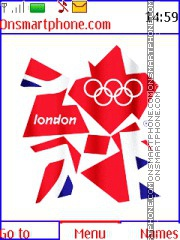 London 2012 Olympic Games es el tema de pantalla