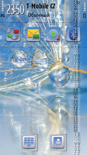 Waterdrop 01 theme screenshot