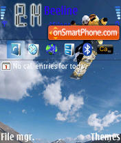 Skytebord theme screenshot