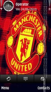 Manchester United theme screenshot