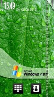Vista Drops es el tema de pantalla