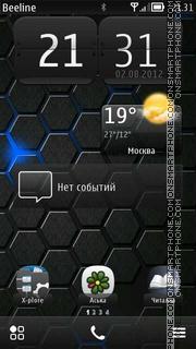 Nokia Stella Black es el tema de pantalla