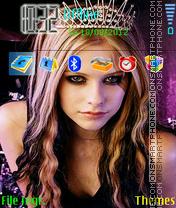 Avril Lavigne 02 es el tema de pantalla
