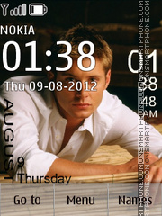 Jensen Ackles theme screenshot