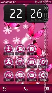 Capture d'écran Butterflies 05 thème