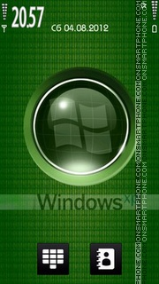 Windows Green tema screenshot