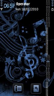 Music es el tema de pantalla
