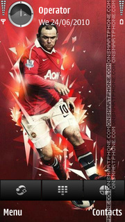 Wayne Rooney es el tema de pantalla