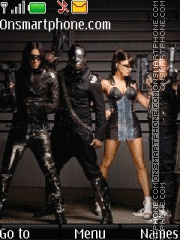 The Black Eyed Peas 02 es el tema de pantalla