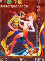 Just Dance es el tema de pantalla