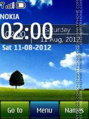 Windows Digital 02 theme screenshot
