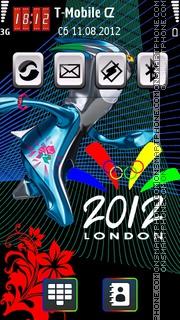 London 2012 Olympics 01 theme screenshot