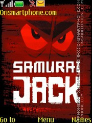 Samurai Jack theme screenshot