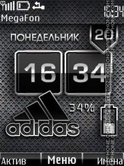 Adidas Battery Theme-Screenshot