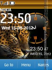 Cheetah Dual theme screenshot