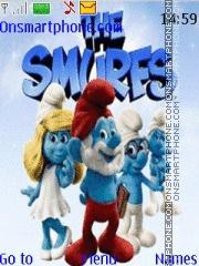 The Smurfs 05 theme screenshot