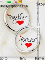 Together Forever 14 theme screenshot