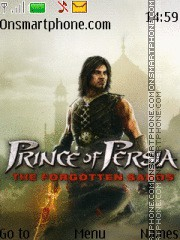 Prince Of Persia Forgotten Sands theme screenshot