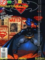 Batman & Superman Public Enemies theme screenshot