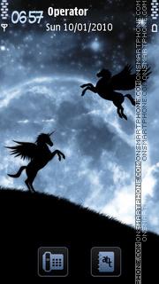 Pegasus es el tema de pantalla