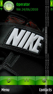 Nike Logo theme screenshot
